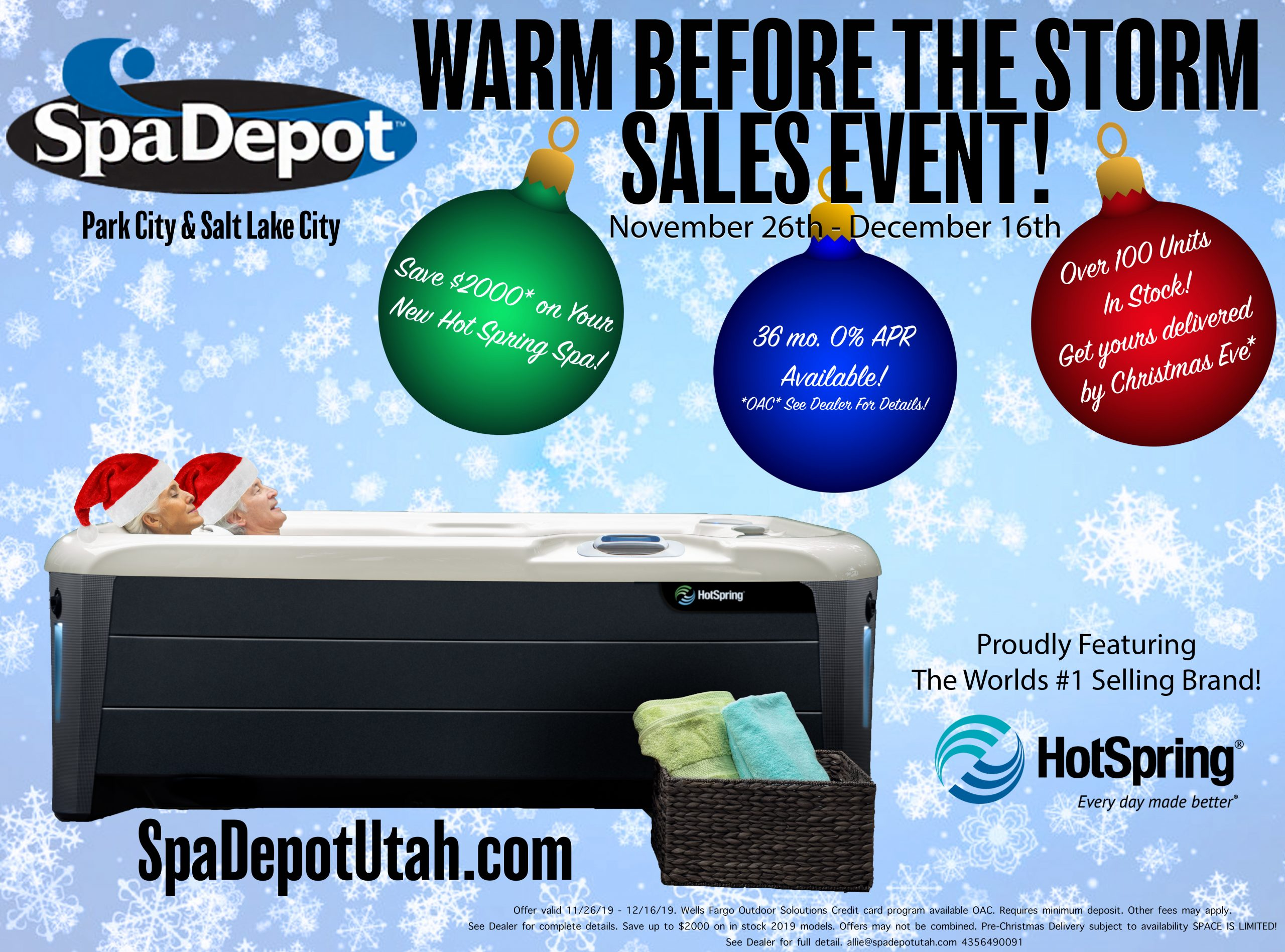 Warm Before The Storm Sales Event
